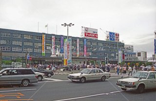 札幌駅 旧駅舎 函館本線 平成5年1993