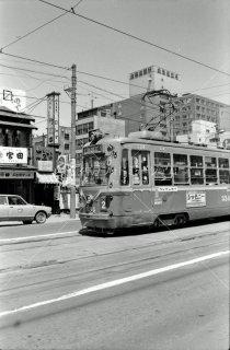札幌市電 西四丁目-西八丁目間 1974年6月
