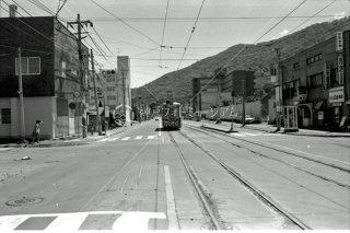 札幌市電 南19条西14丁目交叉点 1974年6月