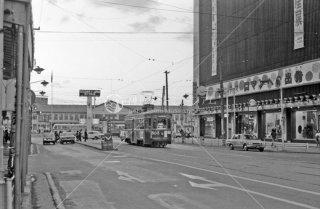 函館市電 函館駅前 No503 1972年9月