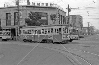 函館市電 No.510 バス 1972年9月