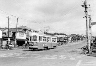 函館市電 谷地頭 1962年8月