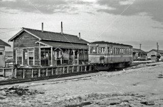 1968年3月 北海道拓殖鉄道 瓜幕駅キハ112