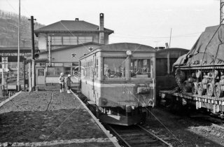 1968年3月 北海道拓殖鉄道 新得駅キハ112