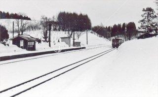 塩狩駅 宗谷本線 昭和54年1979