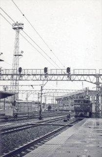 仙台駅 ED75電気機関車+客車 新幹線工事中 昭和52 1977