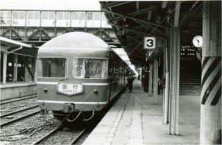 秋田駅終着 急行寝台天の川 昭和53 1978
