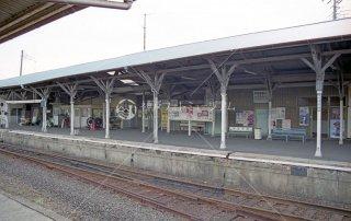 茨城交通 那珂湊駅ホーム1 ひたちなか海浜鉄道 平成13,2001
