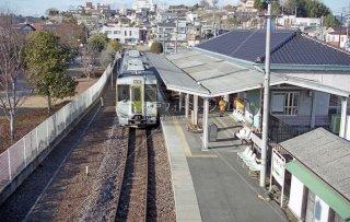 水郡線 常陸太田駅ホーム 改修前 平成13 2001