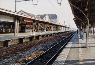 前橋駅 国鉄両毛線 昭和58年 1983