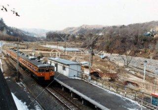 大前駅 国鉄 吾妻線 昭和58年 1983