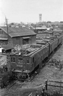 国鉄大宮工場 ED4226廃車 昭和38年 1963