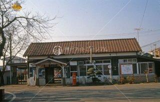 金子駅 1984年12月 金子駅 駅舎