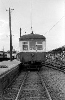銚子電気鉄道 銚子駅 デハ201 1965年7月