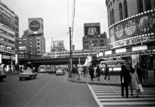 東海道新幹線 有楽町駅付近 1967年11月