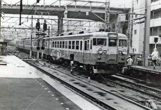 上野駅進入 急行いわて 国鉄 昭和52 1977