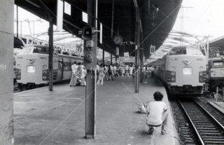 上野駅 特急 とき そよかぜ EF58 国鉄 昭和52 1977