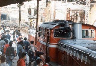 上野駅 DD51 新幹線開業 昭和57 1982