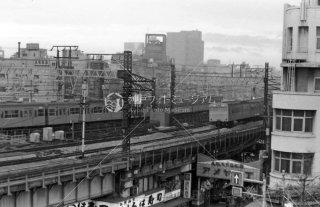 上野〜御徒町駅 アメ横 山手線 国鉄 昭和53 1978