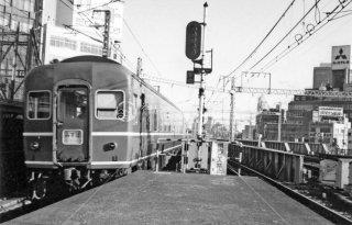 新橋駅通過 みずほ 昭和53 1978