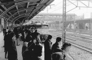 赤羽駅 東北本線ホーム4番線 1978年11月