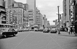都電 11系統 数寄屋橋-銀座4丁目間 1967年11月