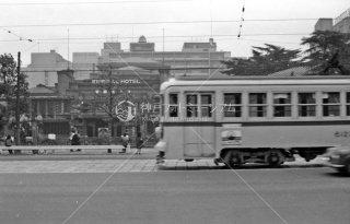 都電 帝国ホテル前 35系統 1967年11月