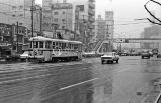 青山車庫-渋谷駅前間10系統 1968年2月