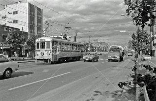 永代橋付近 都電28系統近 1972年10月