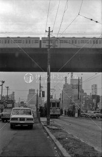 秋葉原駅東口停留所 21系統水天宮前行き3089 1966年12月