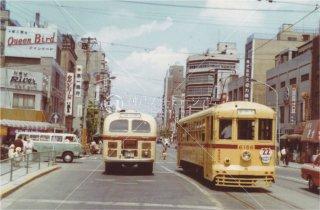 都電 人形町 6186 昭和42 1967