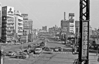 五反田駅前 都電4系統 1967年12月