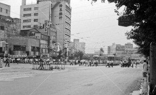 新宿駅前停留所 都電 1968年6月