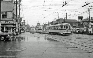 新田裏付近 都電13系統 1967年9月