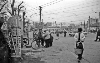 都電19系統 王子駅前付近 1966年12月