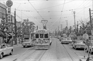都電 41系統 さようなら志村橋 1966年5月