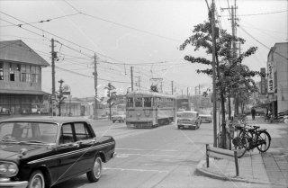 都電 都電 志村橋 41系統4065 1966年5月