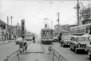 都電 赤羽 27系統 No.3222 1966年12月