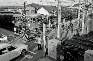 東京急行電鉄 世田谷線 山下駅 デハ70形 1974年10月