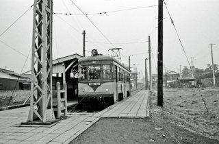 玉電 砧線 砧本村駅 1969年1月