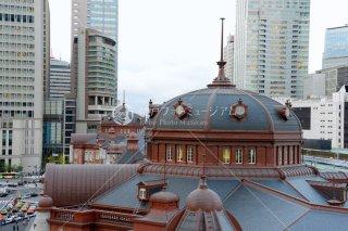 東京駅 南ドーム望む 平成25年