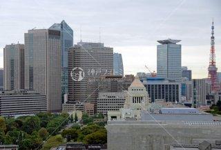 国会議事堂 東京タワー 半蔵門より 平成25年