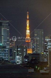 東京タワー 夜景 平成25年