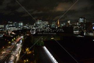 東京新橋方面夜景 平成25年