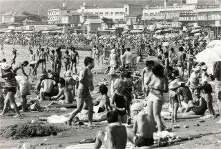 Zushi Beach 逗子 昭和48年1973