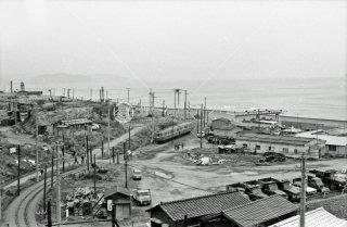 江ノ島鎌倉観光 七里ヶ浜駅付近 1969年3月