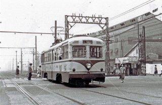 川崎市電 川崎 昭和37 1962