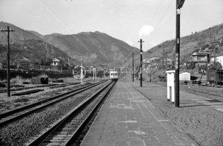 御殿場線 山北駅 1962年12月