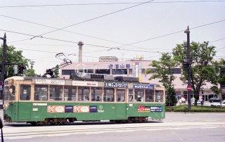 富山市内軌道線 JR富山駅前 富山地方鉄道 平成51993