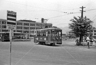 金沢駅前 北陸鉄道 昭和37 1962